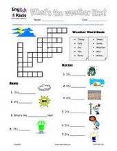 esl kids worksheet weather worksheets weather