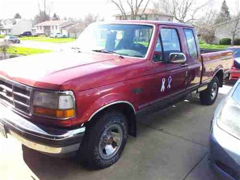 automobile air conditioning service 1992 ford f150 transmission control sell used 1992 ford f 150 xlt lariat extended cab pickup 2 door 5 0l in mackinaw illinois