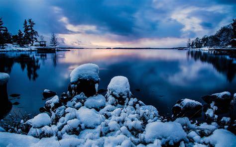 winter images sweden landscape wallpaper