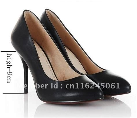 comfortable high heel pumps weeclan classic ol black leather sexy comfortable high