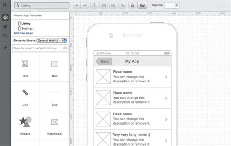 best wireframe tool 20 excellent wireframing tools for mobile