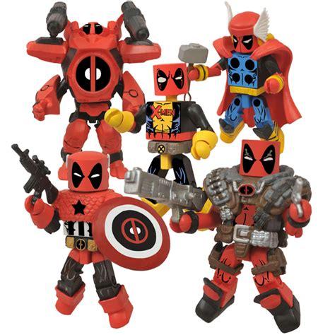 Exclusive Custom Deadpool 2 Terlaris sdcc 2013 minimates exclusivos de figure express