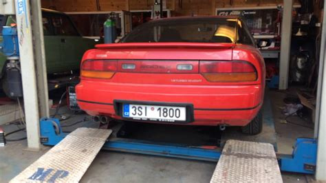 custom nissan 200sx nissan 200sx s13 custom shotgun exhaust