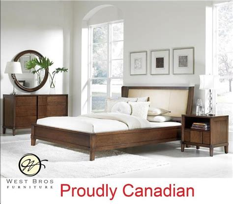 Canadian Bedroom Furniture Manufacturers Clean Crisp Modern Bedroom Set Canadian Manufacturer Sustainable Solid Wood Http Www