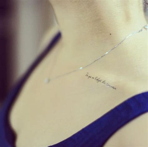 collar bone tattoos pain best 25 collar ideas on most