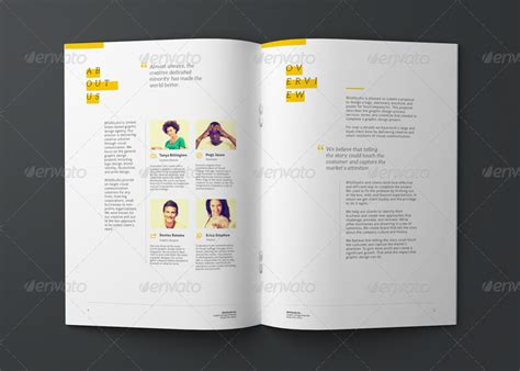 graphic design project proposal template by codeid