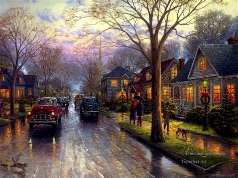 thomas kinkade christmas houses christmas paintings by thomas kinkade 7