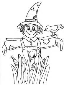 scarecrow coloring pages scarecrow coloring pages free large images