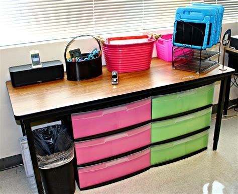 Classroom Desk Organization Classroom Tour 2014 2015 Storage Classroom And Tables