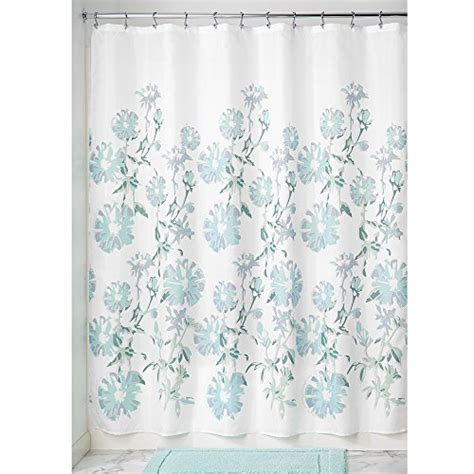slate shower curtain interdesign azalea soft fabric shower curtain 72 x 72