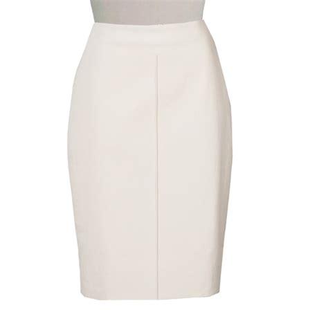 plus size wool blend pencil skirt elizabeth s