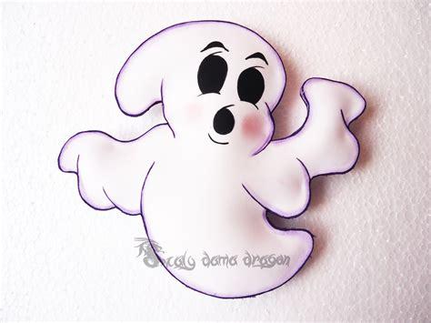 imagenes de halloween en foami 4 fantasmas de foamy o goma eva para halloween diy