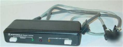 motorola hln3333b repeater interface communication kit