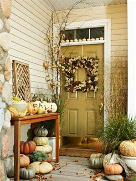 45 cute and cozy fall and halloween porch d 233 cor ideas