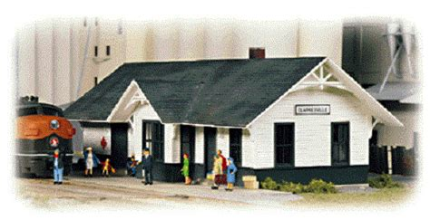 walthers 3240 clarksville depot kit n scale mib ebay