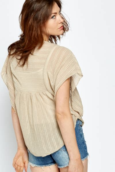 Batwing Top Knited beige knitted batwing top just 163 5