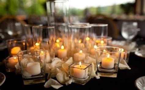 centrotavola candele centrotavola fai da te candele galleggianti e fiori fai