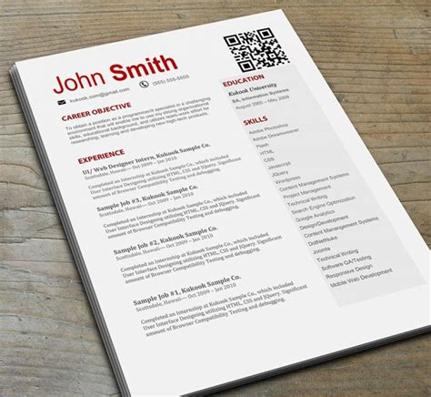 Resume Html Code With Image