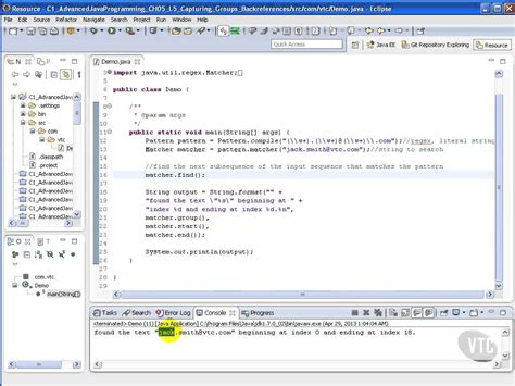 java pattern get groups advanced java tutorial capturing groups backreferences
