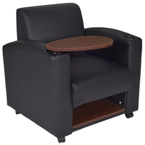 lounge with desk arm chairs with desk arm folding writing tablet seating for