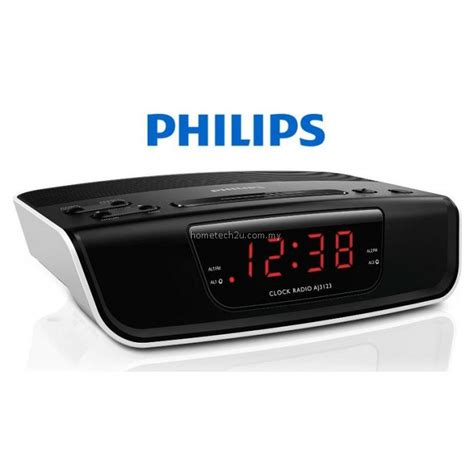 Original Clock Radio Philips Aj3123 12 philips digital tuning clock radio