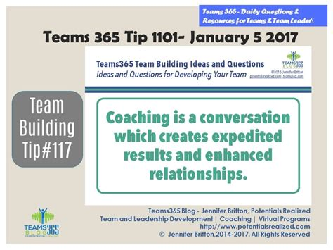 building relationships one conversation at a time a guide for work and home books teams365 potentials realized