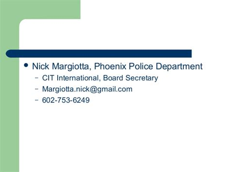 Detox That Accept Ahcccs by Crisis Services Integration With The Cops Nick Margiotta