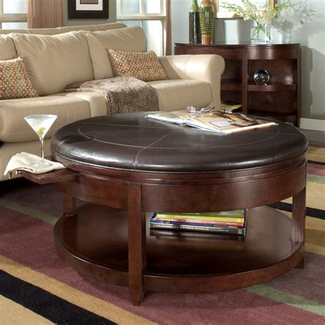 How To Decorate An Ottoman Coffee Table Decorate A Leather Ottoman Coffee Table House Plan And Ottoman