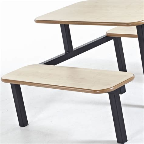 canteen benches bench school canteen fast food furniture