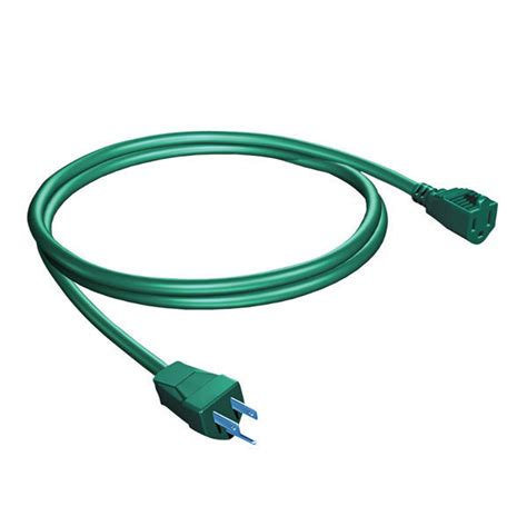 Outdoor Light Extension Cord 18 Ft Outdoor Extension Cord 1 Grounded Outlet