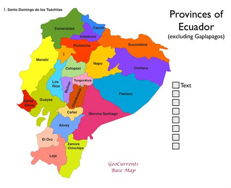 map of mexico provinces map of the 24 provinces of ecuador gringosabroad ecuador
