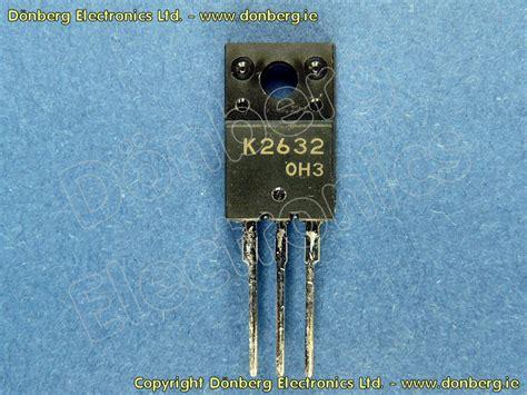 katalog transistor fet halbleiter 2sk2632 2sk 2632 n fet 800v 2 5a 30w 4e8