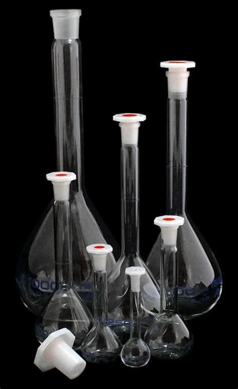 Cat 24 676 12 5 Volumetric Flask Clas A Cap 20ml l8 beakers flasks flasks measuring cylinders