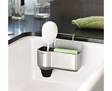 The Sink Organizers by 20 Space Saving Ideas For The Kitchen Living In A Shoebox