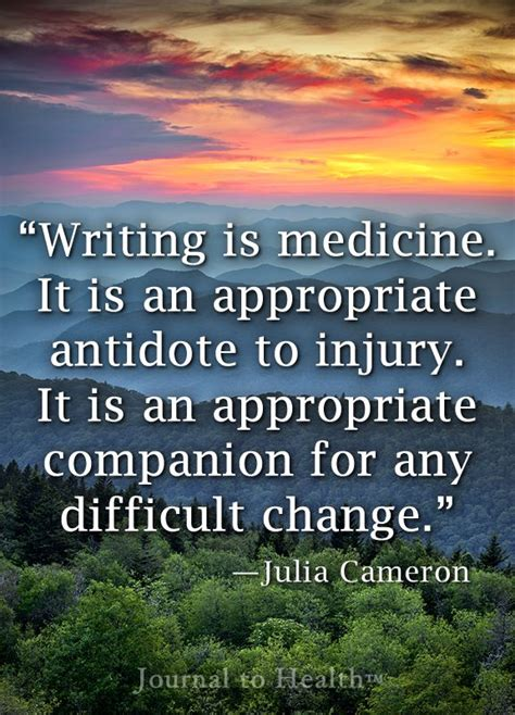 write for recovery exercises for mind and spirit books cameron quote the healing power of writing can
