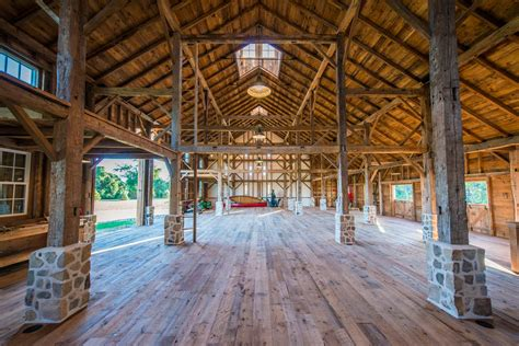 Timber Frame Home Floor Plans by The Newtown Barn Heritage Restorations