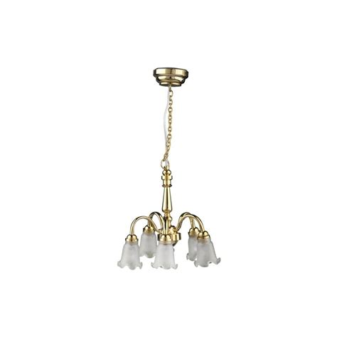 Tulip Chandelier Led 5 Arm Dn Tulip Chandelier Dollhouse Wireless Battery Operated Led Lights Superior