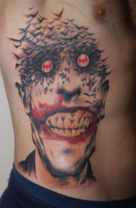 tattoo design joker 55 cool joker tattoos