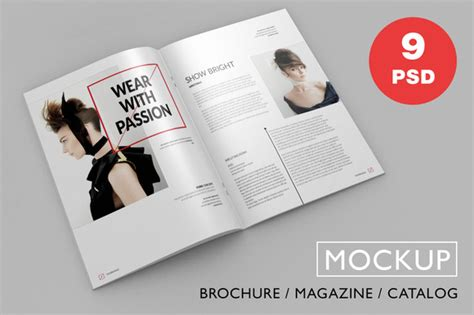 ideas mag free version redefine your magazine design with the best 20 magazine mockup