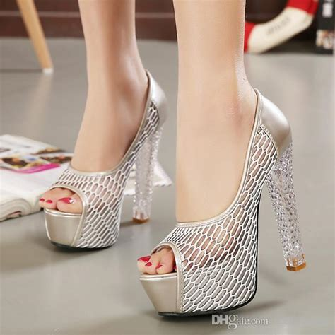 Womens Wedding Shoes For Sale by 2015 2016 Silver Heels Wedding Shoes Designer