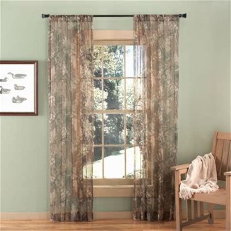 camo sheer curtains buy camo curtains from bed bath beyond