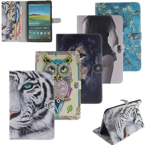 7 fashion patterns flip pu leather tablet cases cover for