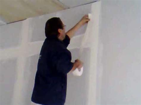 come rasare un soffitto stuccatura cartongesso 5 parte