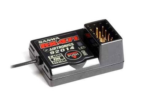 Rx 472 Sanwa Rx 472 rx 472 sanwa rx 472 4 channel receiver eurorc