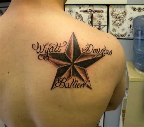 nautical star tattoo on shoulder 38 star tattoos on shoulder
