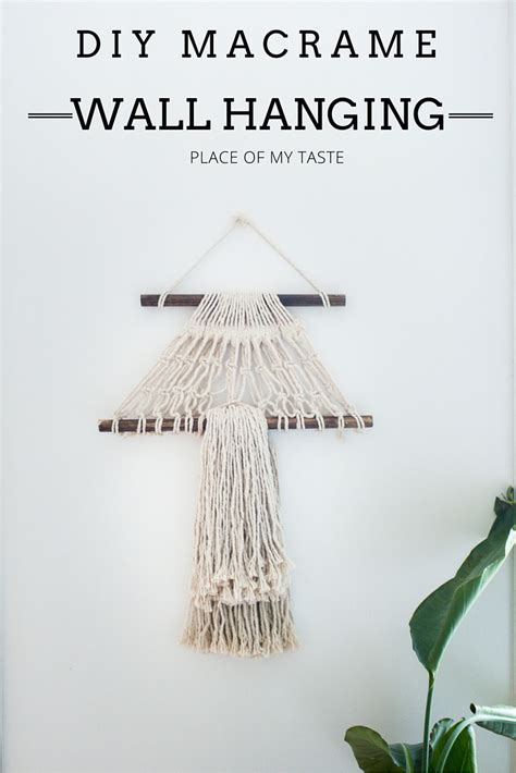 How To Make A Macrame Wall Hanging - an inspiring collection of diy macram 233 projects you ll