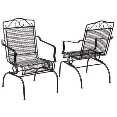 Patio Dining Sets With Rocking Chairs Outdoor Dining Chairs Patio Chairs The Home Depot