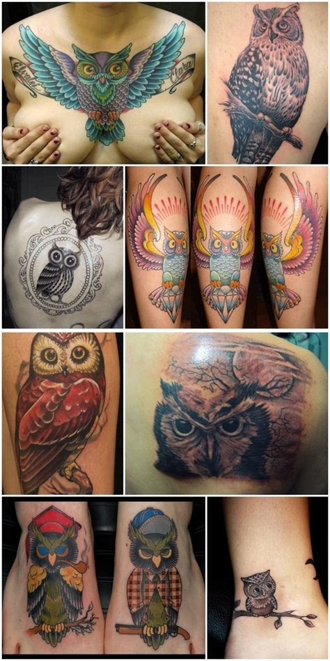 owl tattoos girly tattoos owl tattoos and