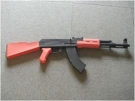 Papercraft Guns - papercraft weapons xcitefun net