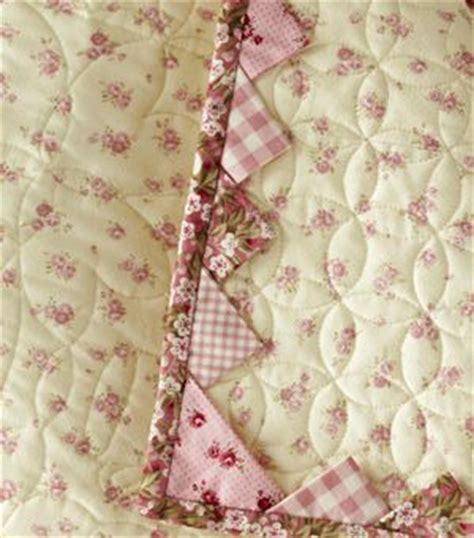 Quilt Borders And Bindings by Quilt Border Idea Gt Prairie Points Inserted Into Binding